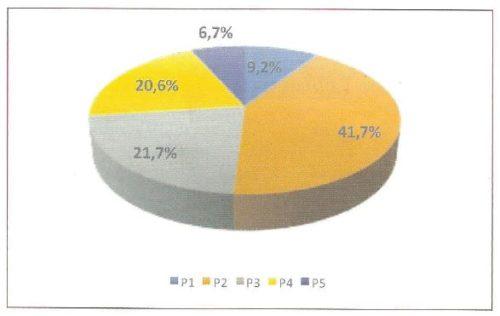 Attribuzione dei profili di cura durante il periodo osservazionale (10.405 pazienti)