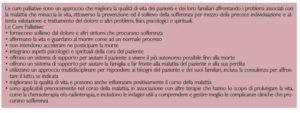 Definizione di Cure Palliative