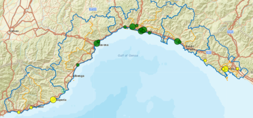 I CDCD in Liguria