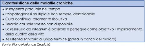 Caratteristiche delle malattie croniche