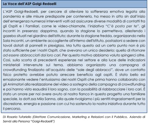 La Voce dell'ASP Golgi-Redaelli